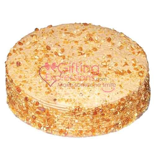 Send Coffee Crunch Cake From Serena Hotel To Pakistan