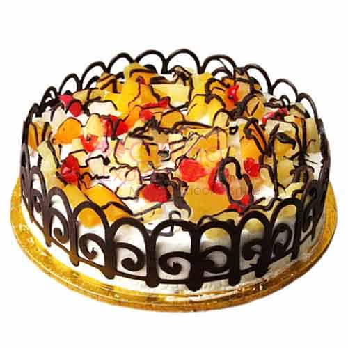 Send Fruit Cocktail Cake From Tehzeeb Bakers To Pakistan