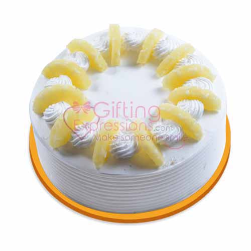 Send Pineapple Cake From United King To Pakistan