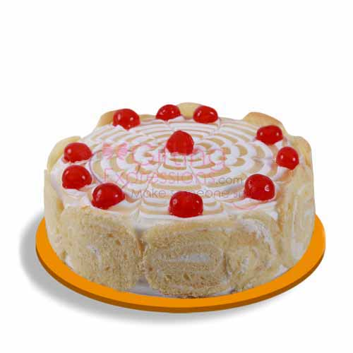 Send Swiss Roll Cake From United King To Pakistan