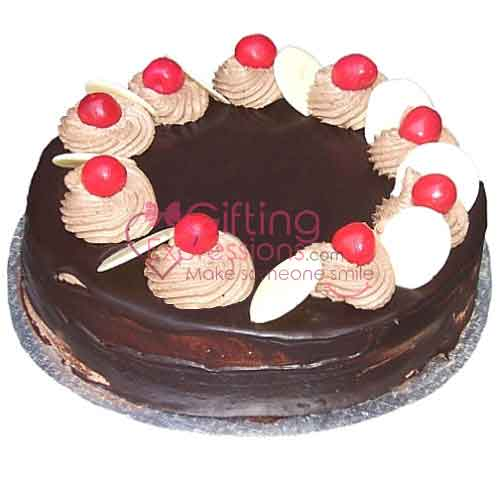 Send Chocolate Cake From Serena Hotel To Pakistan