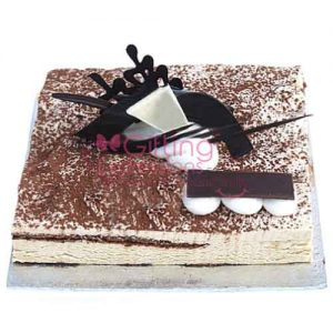 Send Tiramisu Cake From Serena Hotel To Pakistan